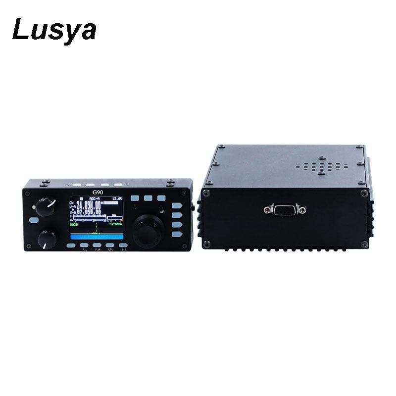 Xiegu G90 émetteur-récepteur de Radio Amateur QRP HF 20 W SSB/CW/AM/FM Structure SDR avec Tuner d'antenne automatique intégré