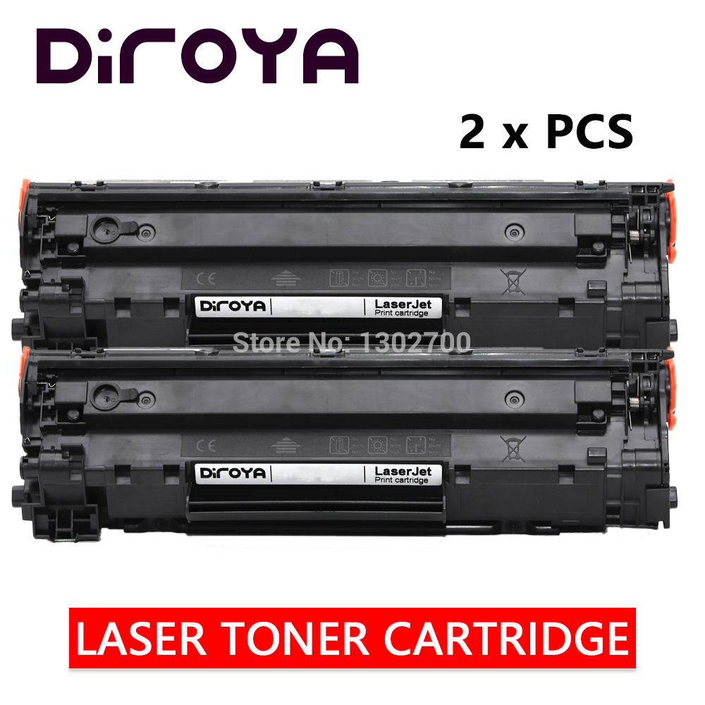 2PCS CE285A 85A CE 285A 285 A toner cartridge for HP LaserJet 1212nf 1214nfh 1217nfw Pro P1100 1102W Pro M1130 1132 1210 powder new high quality baby hair accessories children s cute lace bowknot hair clips baby girl hairpin child hair bow ribbon headdress