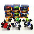 6pcs/lot Deformation Blaze Machines Toys Car Transformation Toys educational For Kids Best brithday Gifts 7.5cm