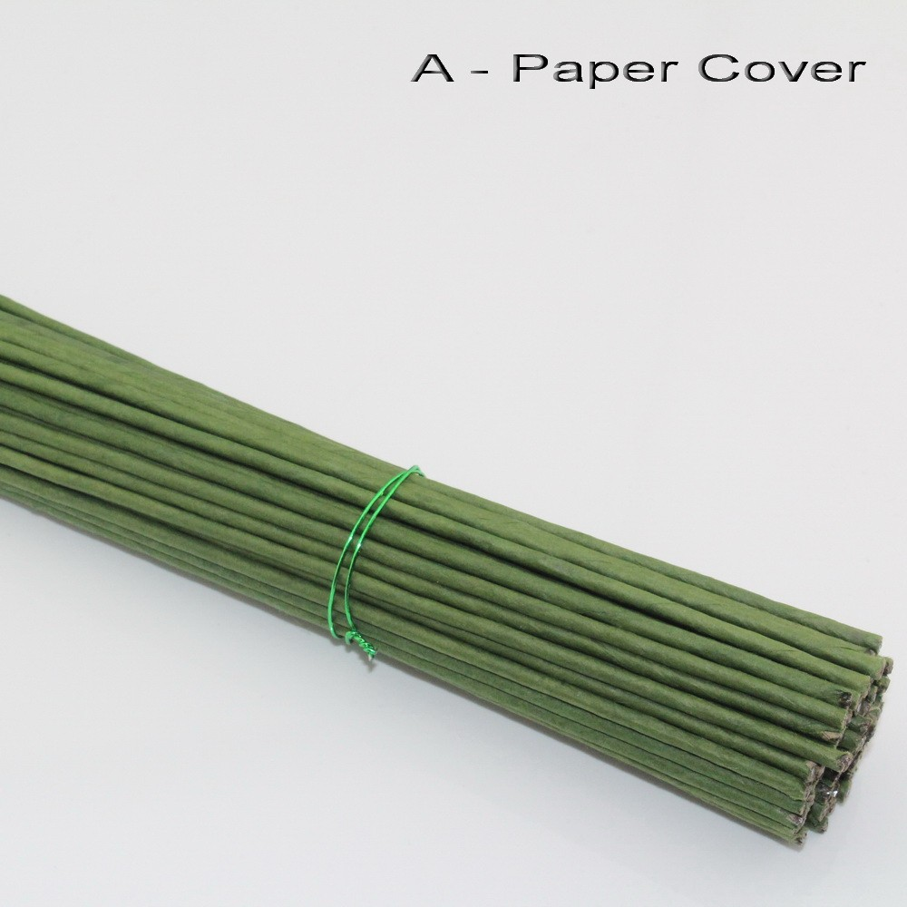 2MM/100PCS,Length40CM,High Quality Green Paper Covered Iron Wire ...