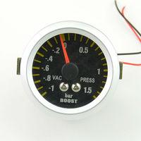 52mm Car turbo boost gauge puntero del medidor de Turbina de vacío unidad de metro-1 ~ 1.5 bar envío gratis