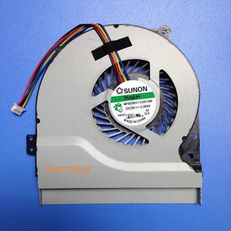 100% merek baru cpu cooling fan untuk asus x550 x550v x550c x550vc x450 x450ca x450v x450c a450c k552v a550v mf75070v1-c090-s9a