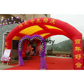 Inflatable Stage Arch Tent camping Poplar custom camping arches 210D Oxford arched Single Layer Tent Inflatable Portable Tent