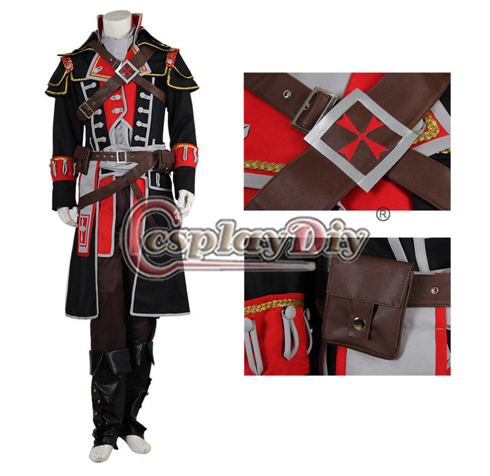 Cosplaydiy Game Role Shay Patrick Cormac Cosplay Costume Adult Men Halloween Carnival Outfit Custom Made D0405