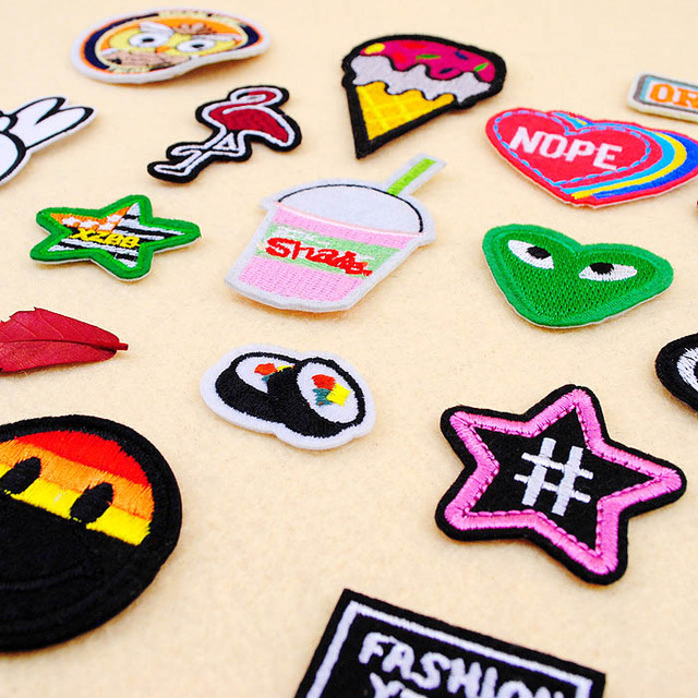Cartoon Badges for Apparel Decoration