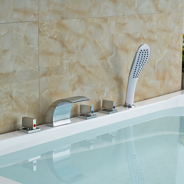 Wholesale And Retail Promotion Elegant Deck Mounted Shower Faucet ...