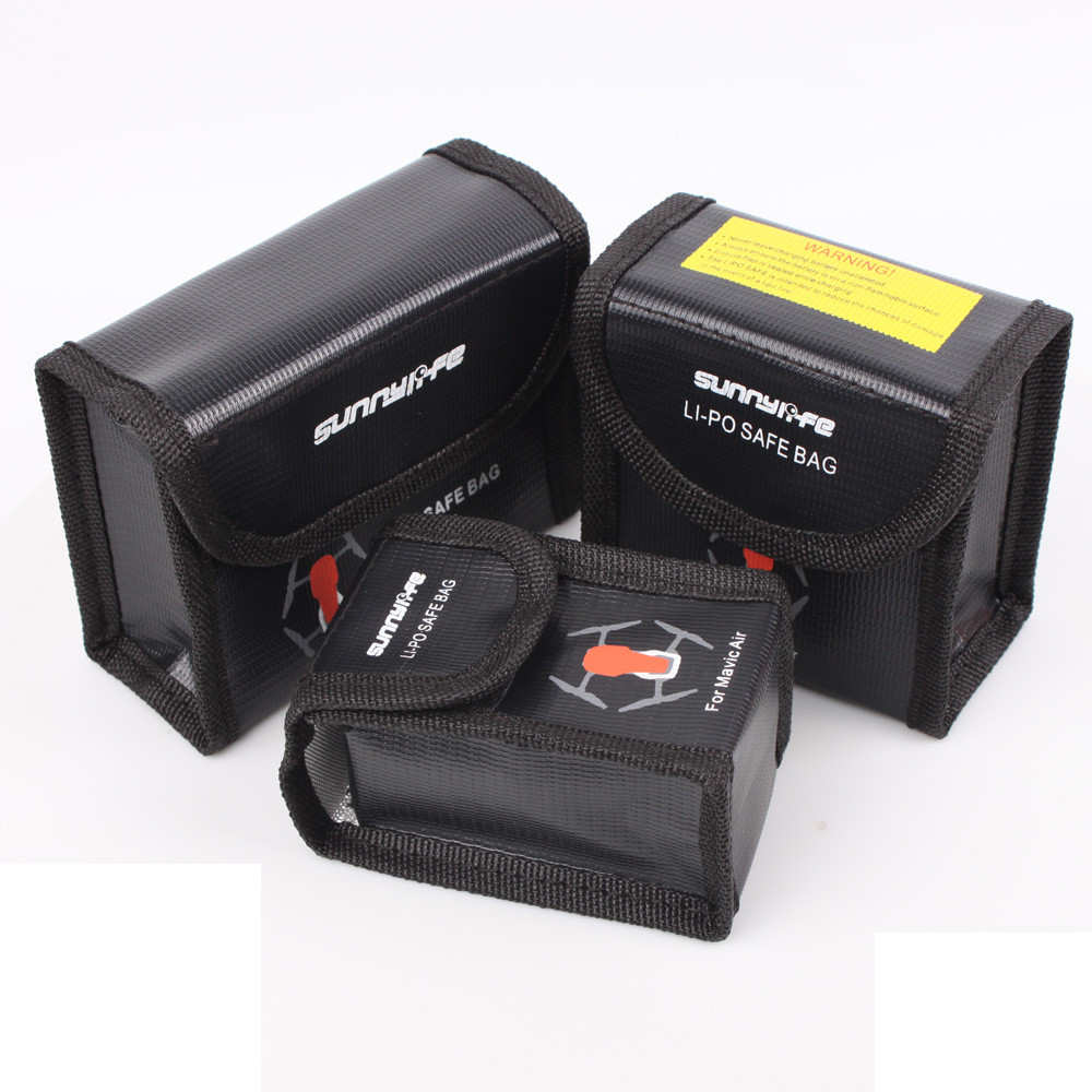 HIPERDEAL L-Battery Protective Storage Bag LiPo Safe Bag Explosion-Proof for DJI Mavic Air   Apr24 HWHIPERDEAL L-Battery Protective Storage Bag LiPo Safe Bag Explosion-Proof for DJI Mavic Air   Apr24 HW