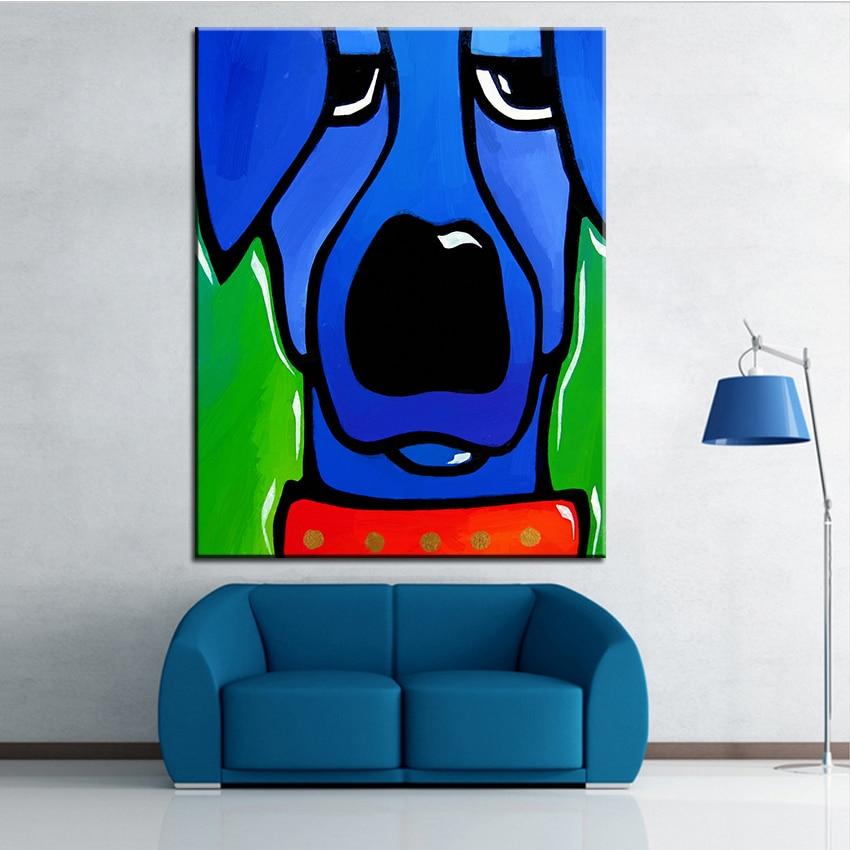 Velkoformátový tisk Olejomalba ignorována Nástěnná malba POP Art Nástěnná malba Obrázek pro malování v obývacím pokoji Bez rámečku