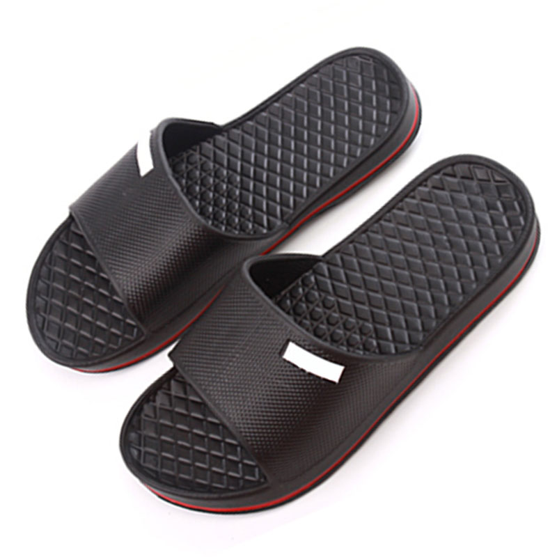 Senza Fretta font b Mens b font Slip On Sport Slide Sandals Flip Flop Shower font