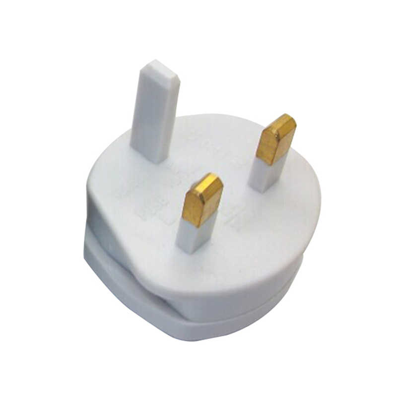 Hurtownie wysokiej jakości UK Standard 2 pinowe gniazdo wtykowe UK do usa wtyczki konwersji podróży ściana prądu zmiennego ładowarka adapter