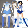Athemis anime sailor moon ami mizuno/sailor mercury cosplay por encargo dress alta calidad