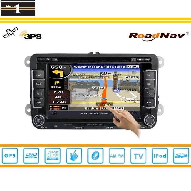 Para volkswagen vw tiguan 2007 ~ 2013-sistema de navegación del gps del coche +