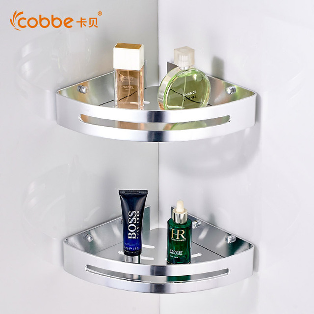 Superbe Modern Double Layer Shower Corner Caddy Mirror Wall Mounted Bathroom  Accessories For Towel Rack Towel Holder Cobbe3268J