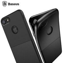 Baseus case для apple iphone 7 двойной мягкий силиконовый двойной жесткий pc case cover для iphone 7 plus case коке