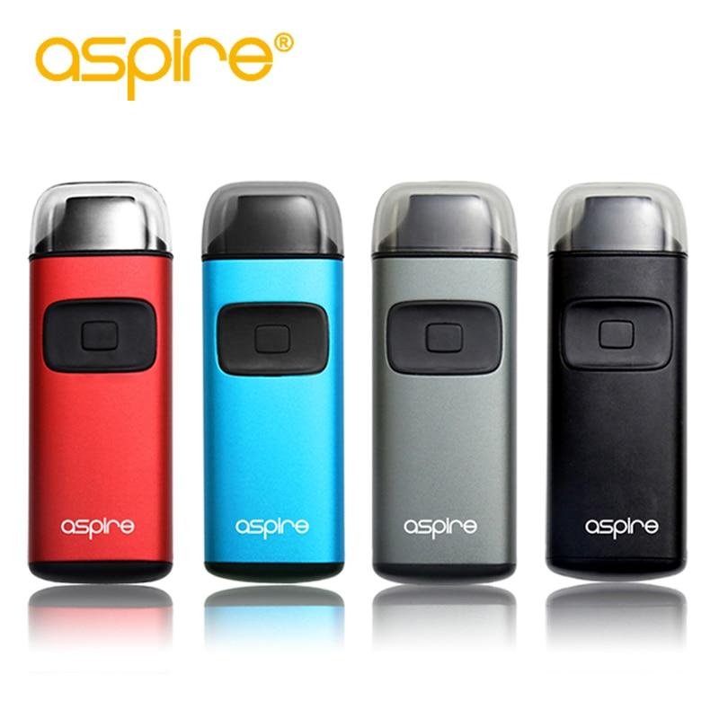 Electronic Cigarette Aspire Breeze Kit 2ml Vape Tank 0.6ohm Coils 650mAh Battery Mod E Cig Kit E-cigarettes Vaporizer Original