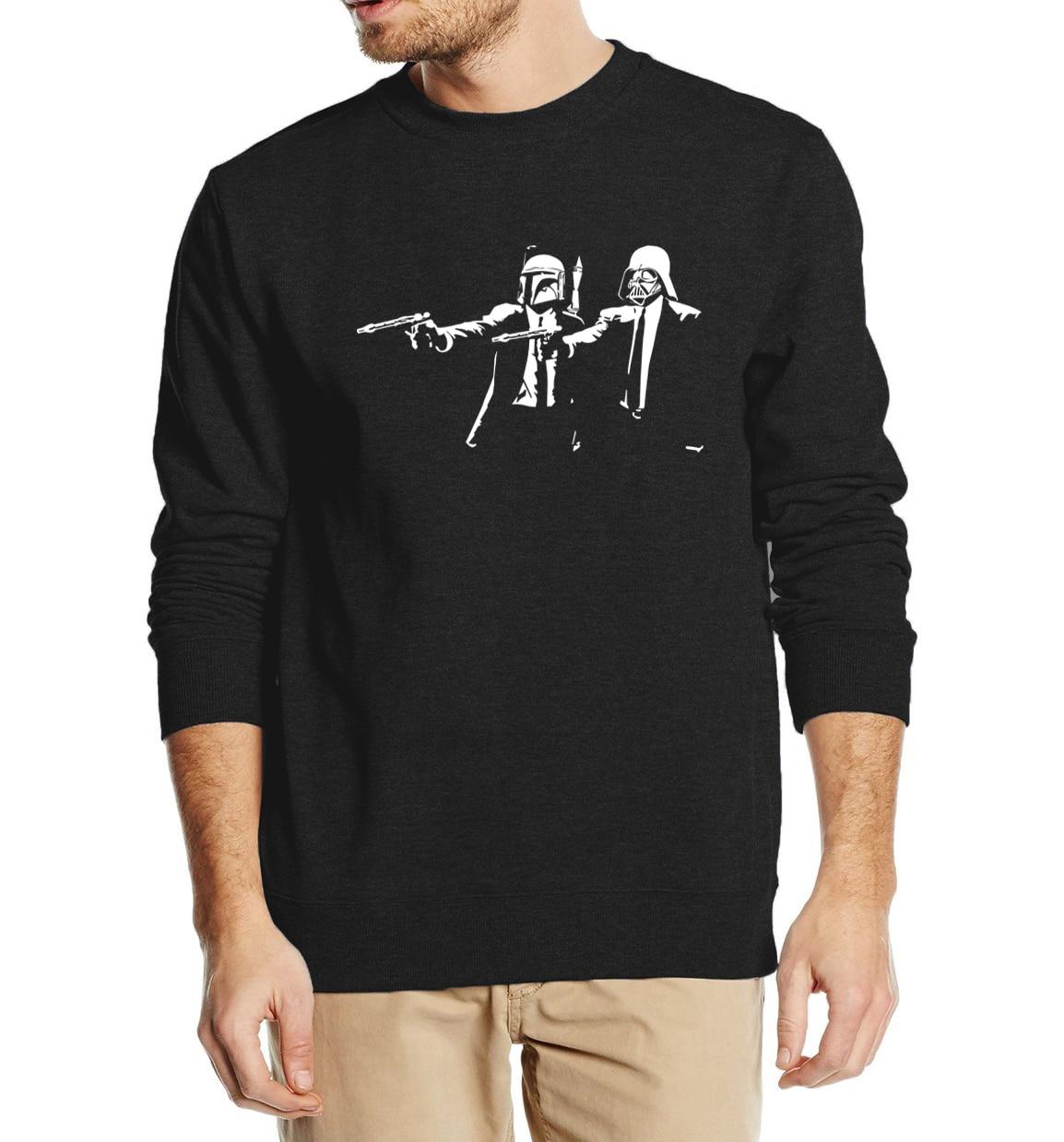 Cool Streetwear Banksy Star Wars 2019 Autumn Winter Fashion Men Sweatshirt Hoodies  Hip Hop Style Tracksuit High Quality
