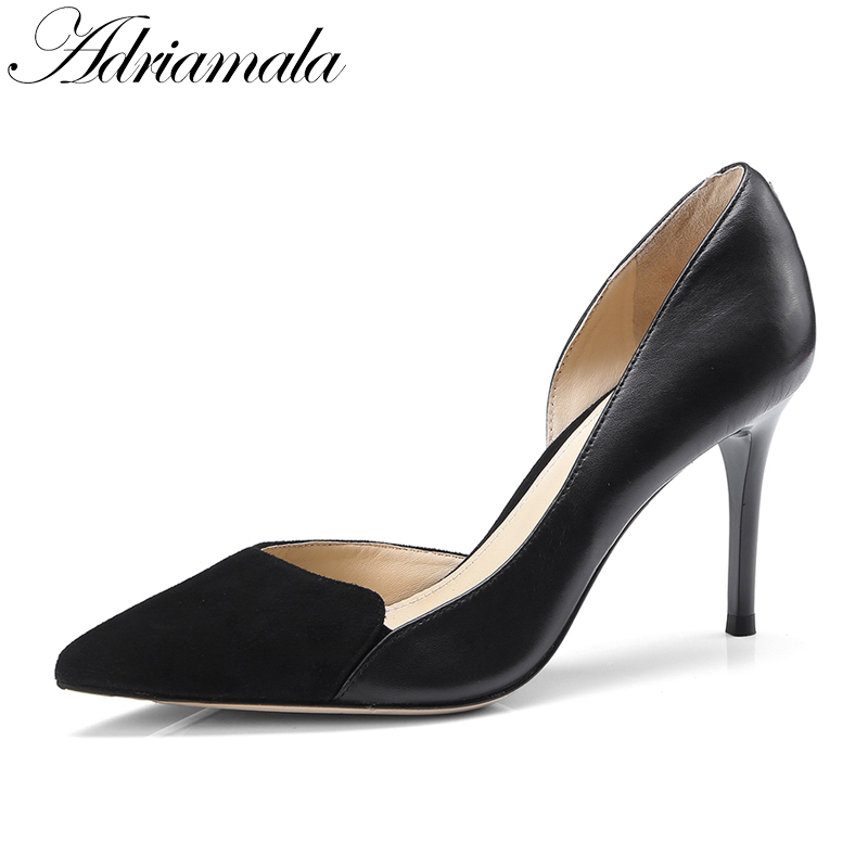 2018 Pointed Toe Sexy High Heels Party Dress Pumps Shoes For Women Summer Fashion Thin Heels Ladies Pumps Women Nysiani women suede pumps high heels women pumps sexy high heels shoes women pointed toe thin heel ladies wedding shoes b242
