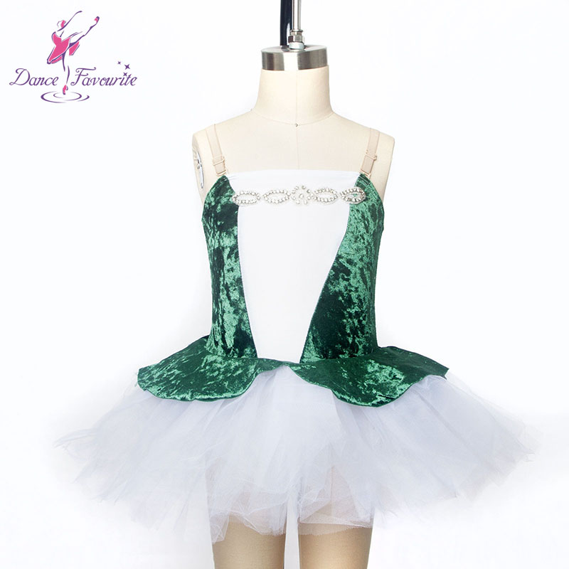 Velvet bodice girl ballet costume child dance tutu ballerina girl dance tutu stage performance ballet costume