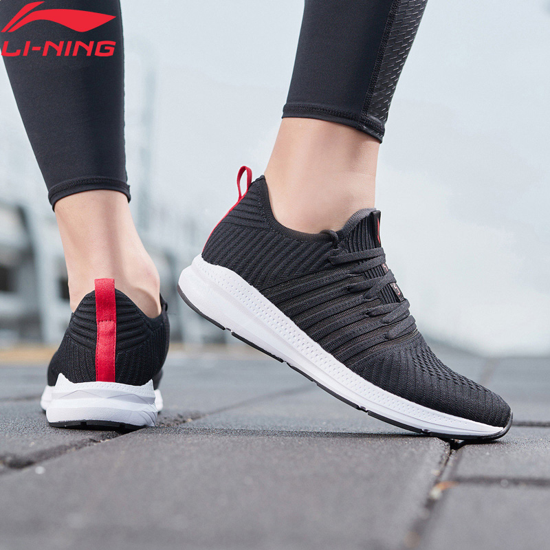 Li-Ning Men REACTOR Cushion Running Shoes Breathable Mono Yarn LiNing Li Ning Light Weight Sport Shoes Sneakers ARHP041 XYP917