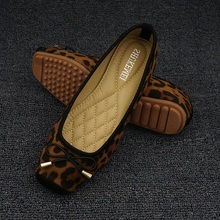 Leopard Flats Loafers Women Driving Shoes Slip On Moccasins Ladies Comfort Fordable Flat Shoes Ballerines Flats Chaussures Femme