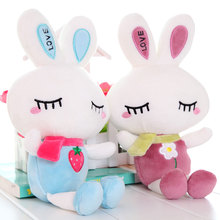 cute wedding bunny lovely plush Butterfly rabbit baby dolls Stuffed plush baby bed dolls,amazing gifts 5 pcs/lot