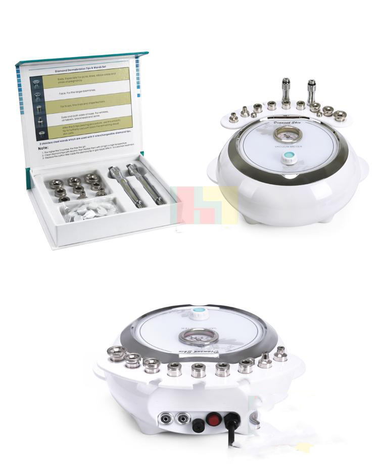 3 In 1 Diamond Dermabrasion Facial Care Microdermabrasion Machine With Sprayer Vacuum Skin Clean & Rejuvenation Spa Salon Equip