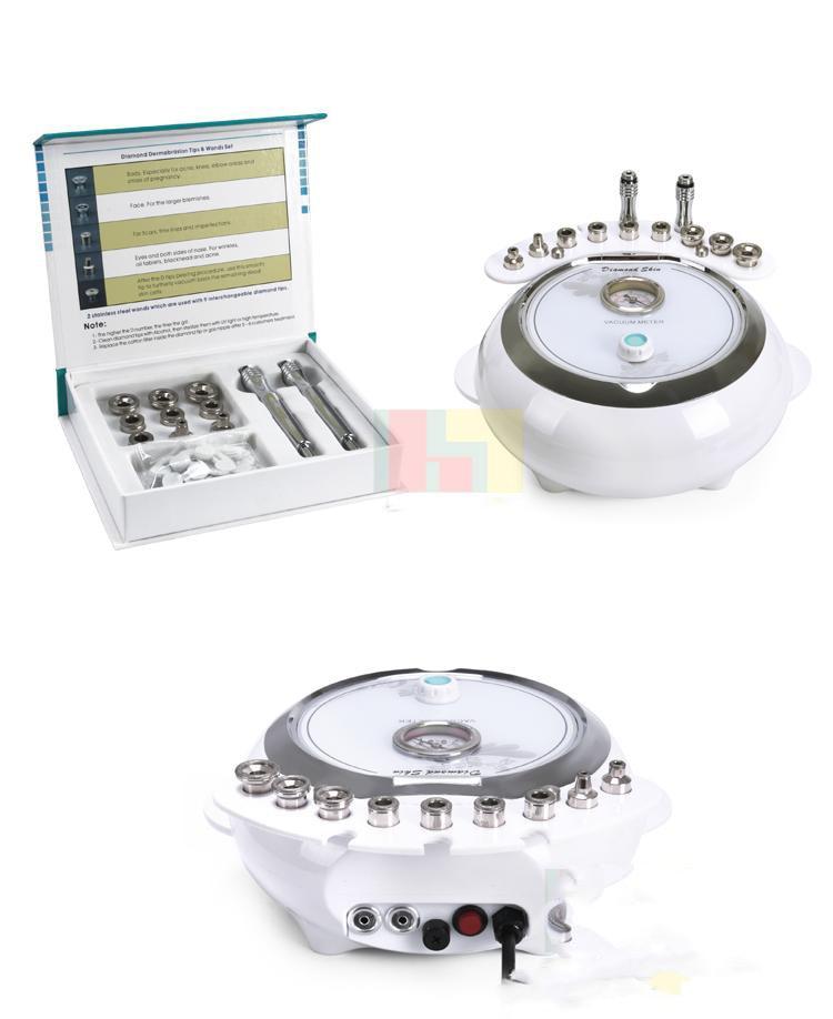 3 In 1 Diamond Dermabrasion Facial Care Microdermabrasion Machine With Sprayer Vacuum Skin Clean & Rejuvenation Spa Salon Equip