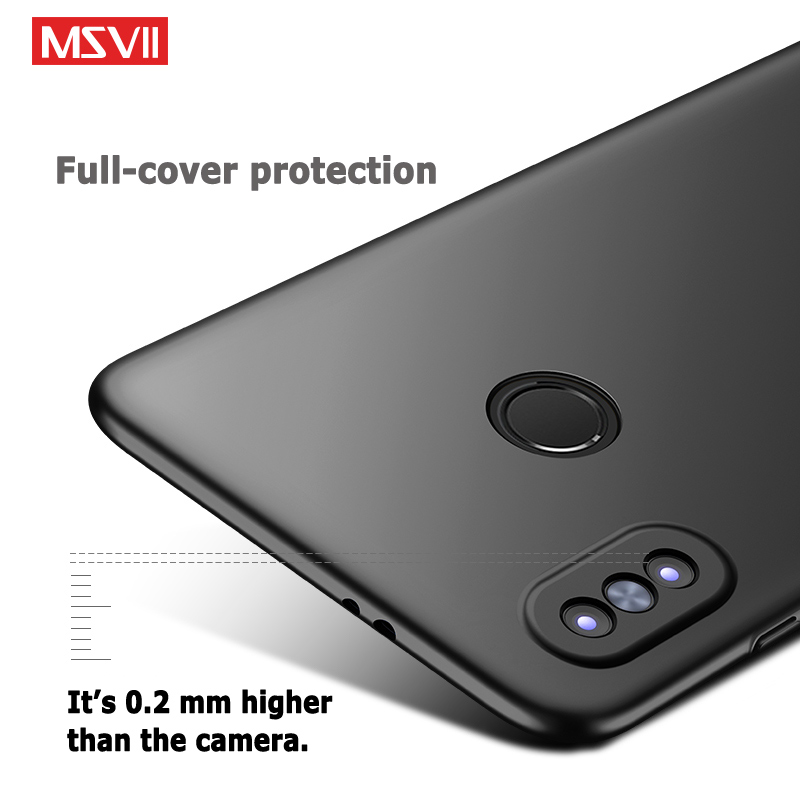 separation shoes 37026 7116b Xiaomi Redmi Note 5 Pro Case Msvii Matte Cover For Xiaomi Redmi Note ...