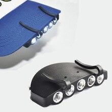 חדש מיני נייד בטיחות שווי אור פנס לעבודה בטיחות קסדת כובע אביזרי דיג עבודה קריאת טיולי אור
