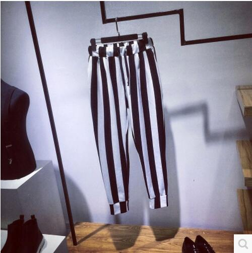 Décontractés Hommes Pantalons Rayé