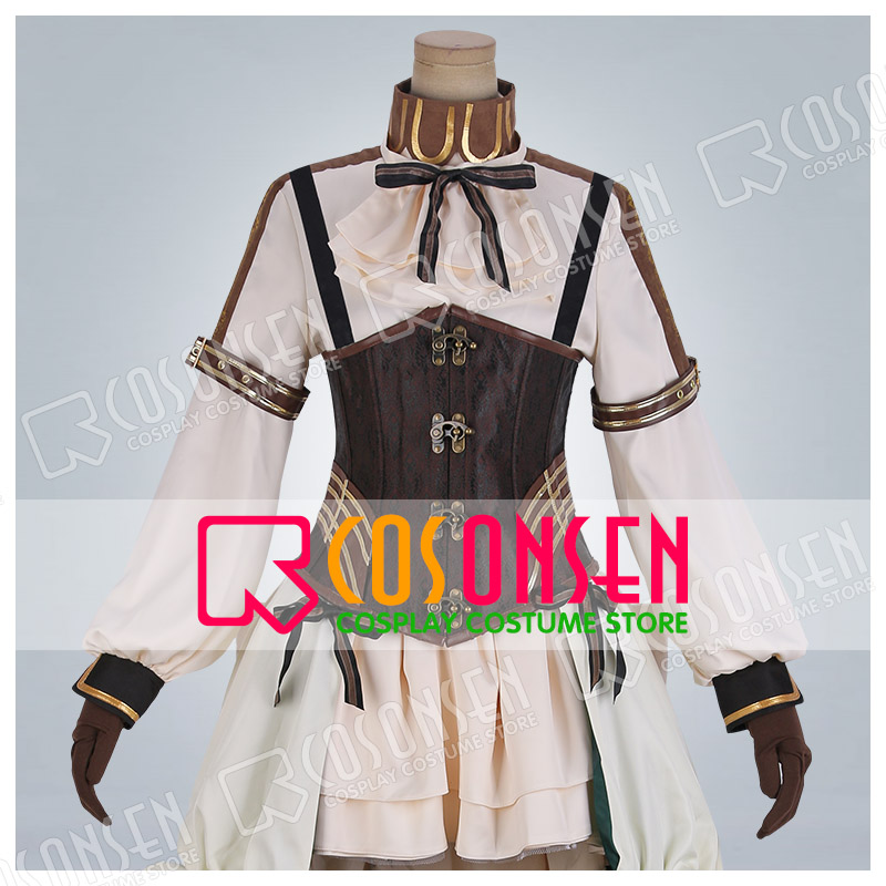 Realize Cardia Beckford Dress Cosplay costume Tailored Anime Code