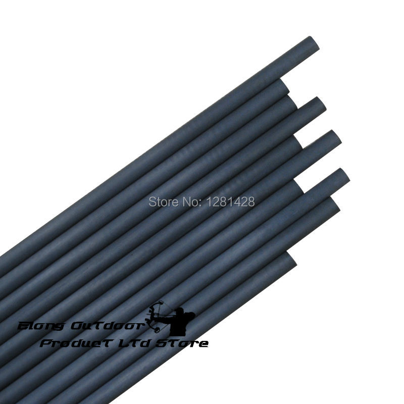 """New 12Pcs Carbon Shaft Tube 30"""" Spine 500 ID6.2mm OD7.23mm Archery Bow DIY Arrows Free Shipping"""