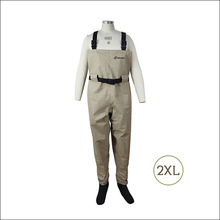 Pesca Wader for Fly Fishing, Botas De Pescador with Neoprene Socks, Breathable Chest Fly Waders