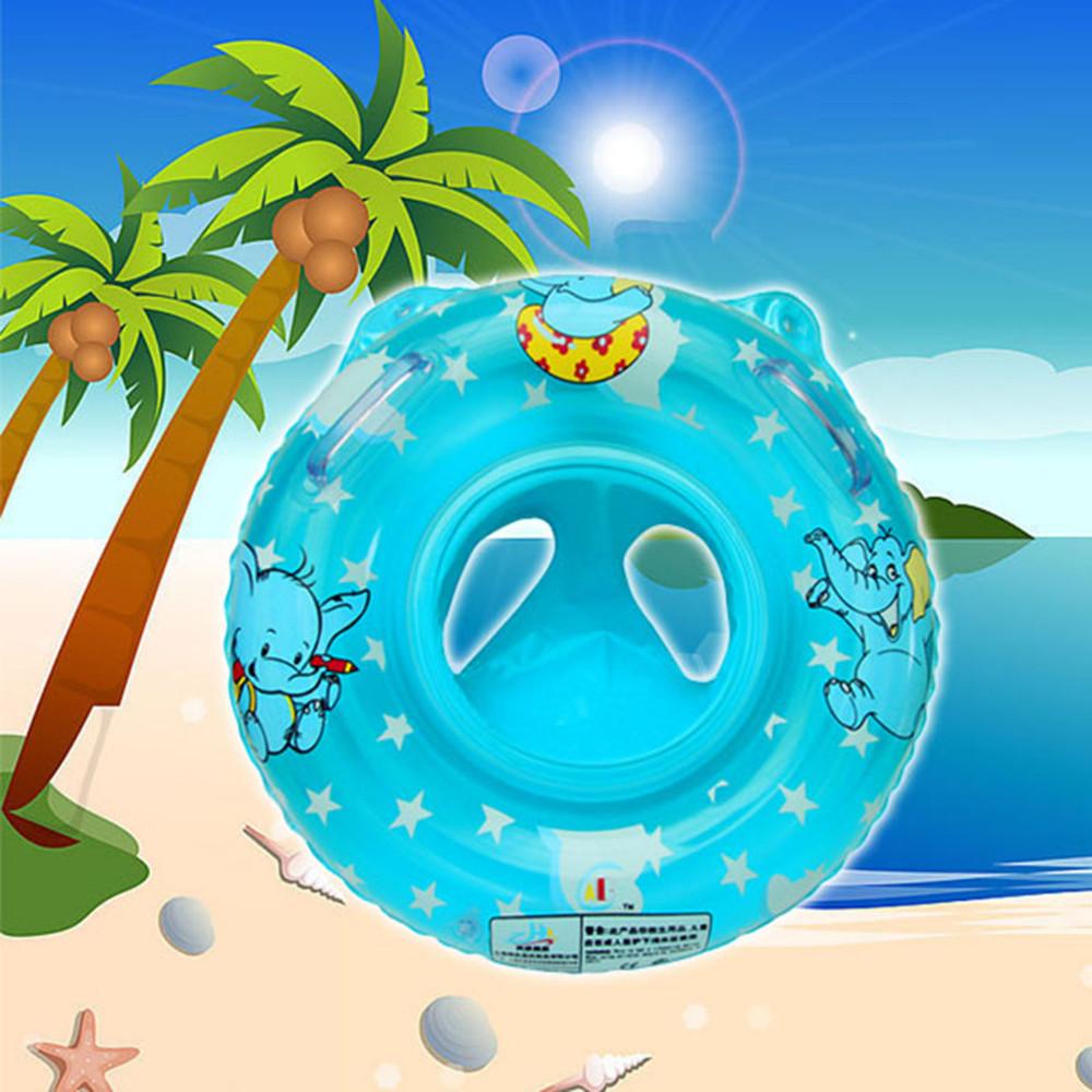 7366d6b6204 Roosa ja sinine ujumisrõngas beebile