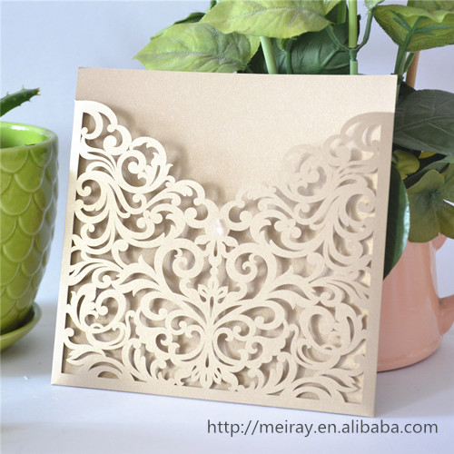 Popular Laser Cut Wedding InvitationsBuy Cheap Laser Cut Wedding – Blank Pocket Wedding Invitations
