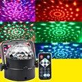 Професиональной LED RGB Свет Этапа Magic Ball Crystal Effect DJ Club Party Автоматической Идентификации Этап Lighting100-240в
