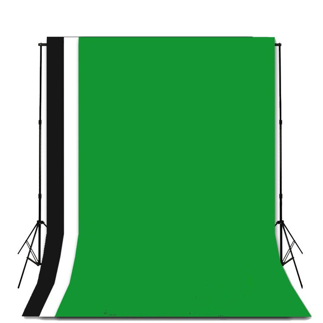 160 * 200cm Photo Backdrops Photography Studio Background 100% Nonwoven Lighting Studio Screen for Photography, Video and TV