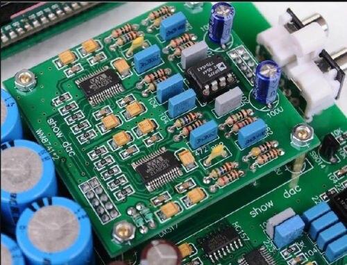 LCD1602 Soft Control Display CS8416 + Dual WM8741 DAC Decoder favourite 1602 1f