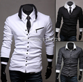free shipping  New Winter autumn zipper slim Mens Long Sleeve  r men's cardigan  men's outwear size M-2XL