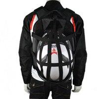 NEW motorcycle backpack Moto bag Waterproof shoulders reflective helmet bag