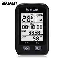 iGPSPORT iGS20E Waterproof IPX6 Wireless GPS Cycling Bicycle Bike Computer Odometer with Large anti glare LED screen