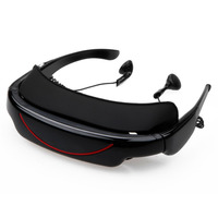 Excelvan Video Glasses 72 Inch Virtual Screen Digital Personal Theater Widescreen For TV BOX PSP Gafas
