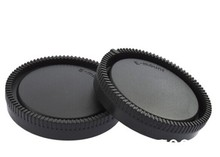 Rear Lens Cap Cover font b Camera b font Front Body Cap For Sony NEX ILCE