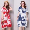 Roupas de Algodão roupas de maternidade para mulheres grávidas em mulheres grávidas. Impresso vestido de maternidade confortável. Frete grátis