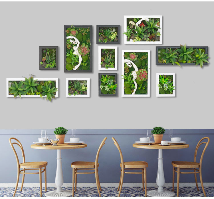 Wall Plant Decor online get cheap 3d artificial plant frame -aliexpress