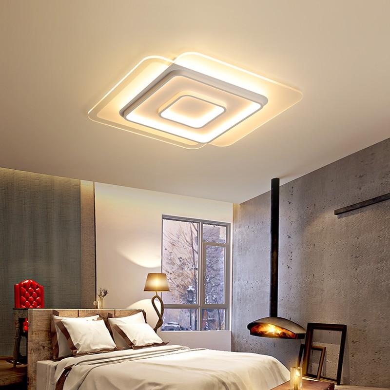 modern Led Chandelier lighting for bedroom living room dining room iron acrylic lustre luminaria lampadario Ceiling Chandelier цена
