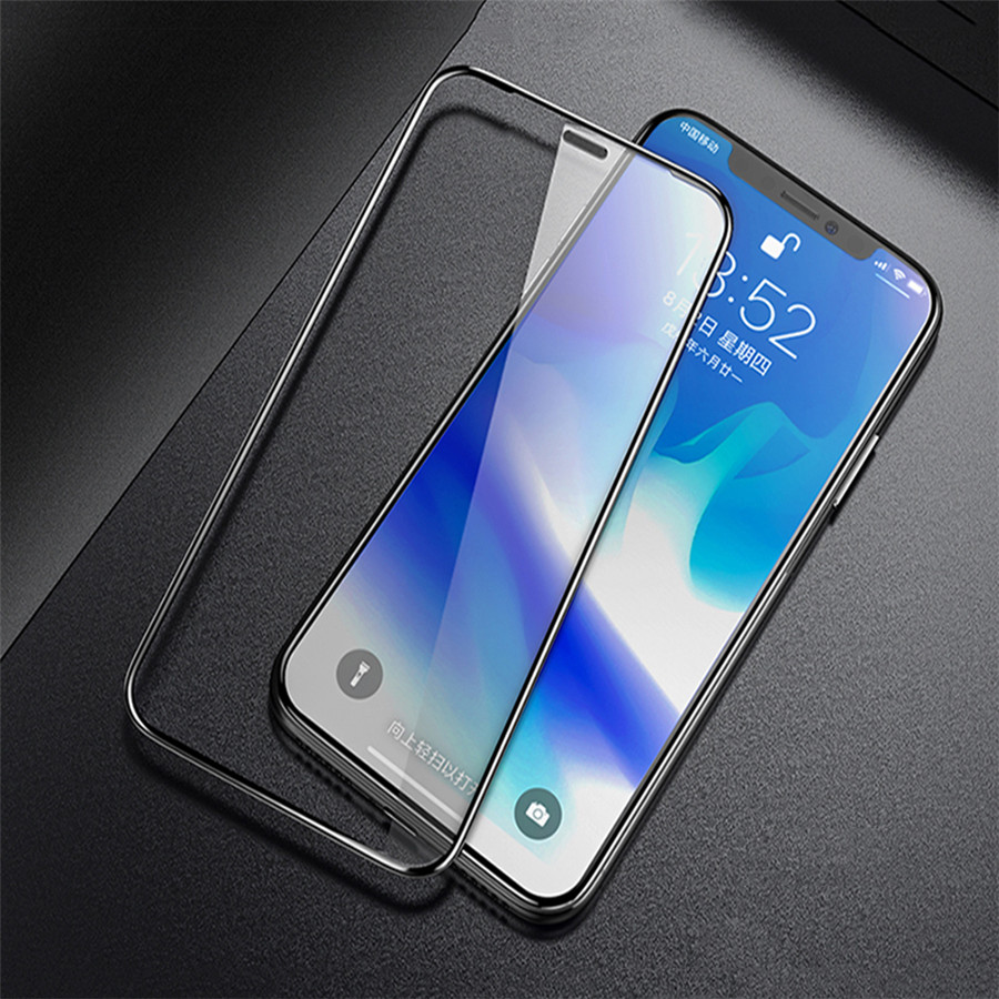 5D Screen Protector for iPhone X Tempered Glass for iPhone XR XS Plus XS Max 8 7 Plus Toughed Film for iPhone 2018 XS 5.8inch