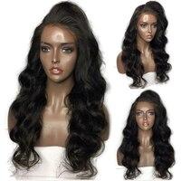 Eversilky натуральные волосы 130% кружево Искусственные парики 180% до 360 Плотность перуанский Девы свободные волнистые парик с ребенком волос для