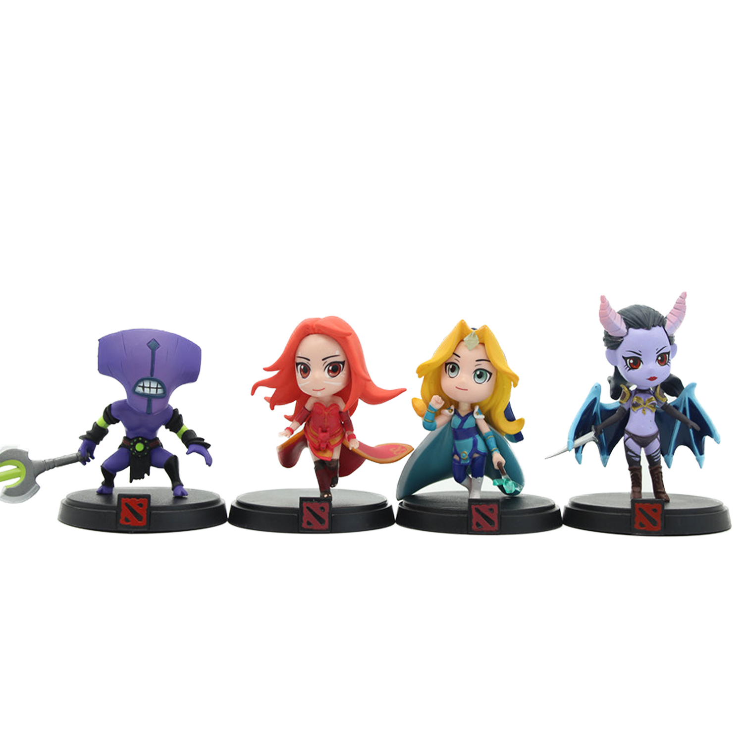 Chanycore DOTA 2 Game Figure Crystal Maiden Faceless Void Lina Queen PVC Action Figures dota2 Toys roomers тарелка malibu 20 5 см