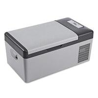 C15 15L AC / DC Portable Refrigerator For Car Home Picnic Camping Party Led Compressor Car Refrigerator Auto Cooler Freezer